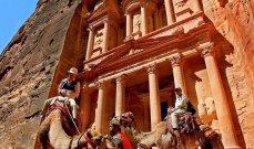 الدخل السياحي الأردني يرتفع 8.6 % خلال 7 أشهر