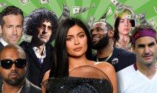 من هم المشاهير الـ10 الأعلى أجرا في العالم لعام 2020؟