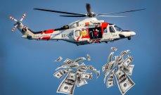 """""""هيليكوبتر الاموال"""" هي الحل للخروج من الازمة المالية العالمية"""