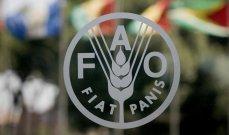 """""""فاو"""": إجمالي قيمة خسائر الغذاء المهدر عالميًا يبلغ 1.1 تريليون دولار سنوياً"""