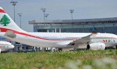 """عدد الركاب في """"مطار بيروت"""" يهبط 73.3% في أول 7 أشهر من 2020"""