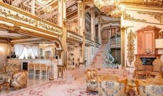قصر مطلي بالذهب معروض للبيع بسعر خيالي... والسبب عيب وحيد!