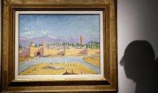 أنجلينا جولي تعرض لوحة فنية رسمها تشرشل للبيع في مزاد بهذا المبلغ الخيالي...!