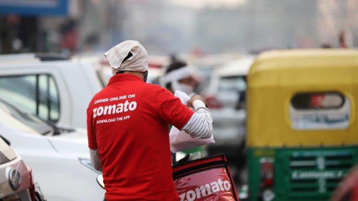 """أسهم """"زوماتو"""" ارتفعت بأكثر من 80% بعد اكتتاب عام أولي بقيمة 1.3 مليار دولار"""