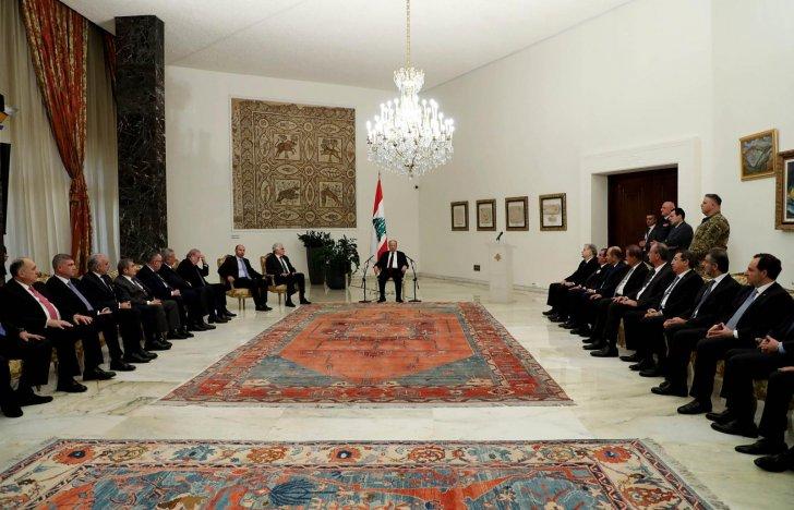 التقرير اليومي 12/2/2020: الرئيس عون: مرحلة جديدة بدأت بعد نيل الحكومة الثقة.. وكل من مدّ يده إلى الخزينة سيحاكم