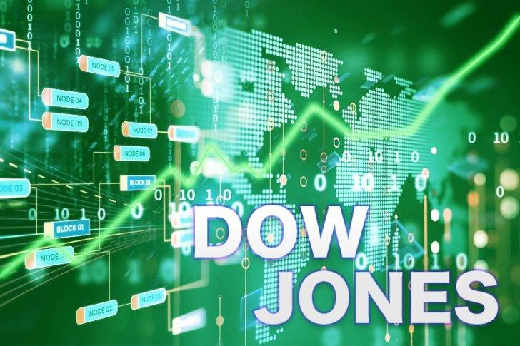 """هبوط مؤشر """"داو جونز"""" الصناعي بمقدار 122 نقطة في بداية التعاملات"""