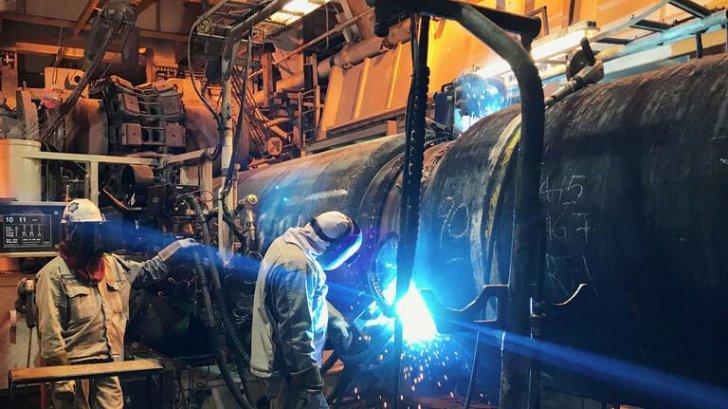 """الشركة المديرة لـ """"السيل الشمالي 2"""": المشروع تم إنجازه بـ98% ونتوقع إتمامه في آب"""