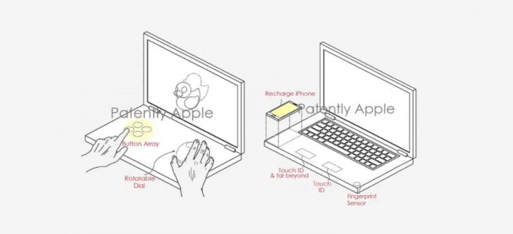 """شركة """"آبل"""" تحصل على براءة اختراع عن جهاز """"ماك بوك"""" بشاشتين"""