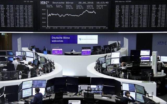 ارتفاع الأسهم الأوروبية هامشياً في بداية الجلسة مع مكاسب قطاع البناء