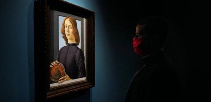 بيع لوحة للفنان الإيطالي بوتيتشيلي بسعر خيالي!